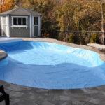 Zazimování bazénu před zimou
