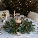 Vánoční dekorace na stůl – Návody + Inspirace